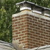 A chimney that contains two or more flue.